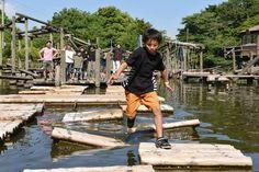 関東のおすすめ本格アスレチック施設18選 幼児から大人まで満喫 | 子供とお出かけ情報「いこーよ」 Activities, Travel, Viajes, Destinations, Traveling, Trips