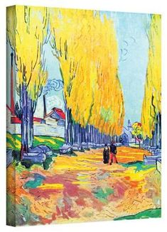 Vincent van Gogh Les Alyscamps, Avenue in Arles - The Largest Art reproductions Center In Our website. Low Wholesale Prices Great Pricing Quality Hand paintings for saleVincent van Gogh Canvas Art Prints, Post Impressionism, Art Painting, Artist Van Gogh, Art Van, Painting, Art, Canvas Art, Oil Painting Reproductions