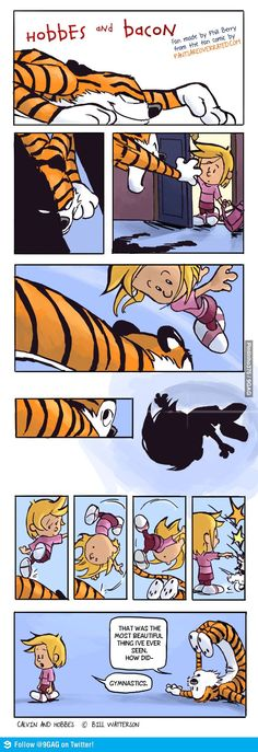 Hobbes and Bacon. Ha,ha they should continue this. I like the spin.