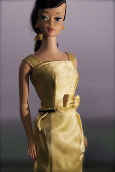 Vintage Barbie - Swirl ponytail Brunette