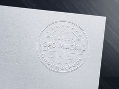 Free Premium Embossed Logo Mockup PSD by Zee Que | Designbolts
