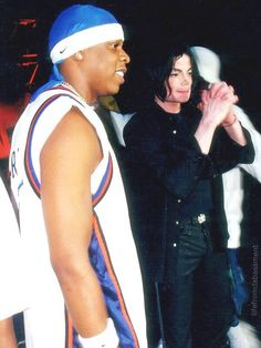 Michael Jackson and Jay Z