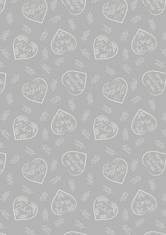 Lewis & Irene Patchwork Quilting Fabric Dove House - Chalk hearts on dove grey Dove House, Tourist Map, Free Studio, Peaceful Places, Dove Grey, Writing Paper, Love Words, Irene, Quilts