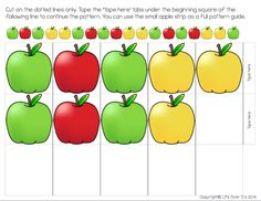 Free Apple Patterns for Higher Order Thinking