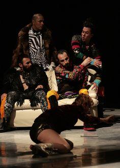 Delfos Danza Contemporánea y Filarmónica de la Ciudad de México en Bellas Artes. La consagración de la primavera de Igor Stravinski.  Foto: Abril Cabrera A.