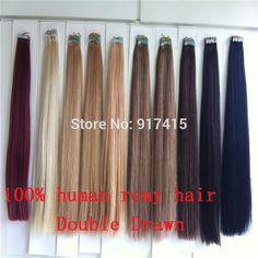 "Find More Skin Weft Hair Extensions Information about Grade 5A 18"" 20"" 22"" 24 inch Russian Remy Tape Hair PU Skin weft hair extension Double Drawn 100gram per set 40pcs 2.5g/piece,High Quality hair replacement tape,China hair display Suppliers, Cheap tape metal from top hair/sinohair on Aliexpress.com"