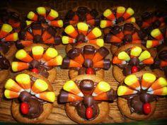 A Little Tipsy: Turkey Cookies