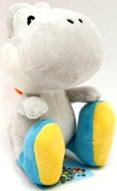 "Super Mario Plush - Yoshi Island - 5.5"" - Grey"