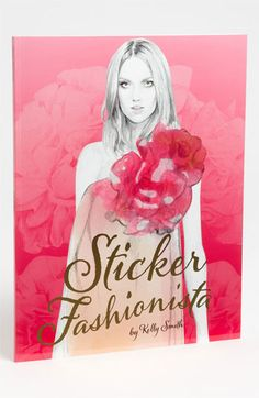 Kelly Smith 'Sticker Fashionista' Sticker Book (Girls) available at #Nordstrom