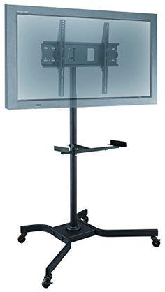 """Elitech Mobile LCD TV Cart for 56"""" TV"""