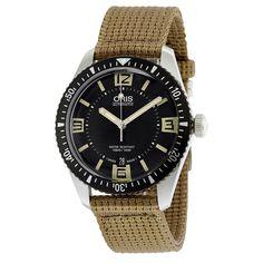 3dbbe205d9db Imagini pentru Oris Divers Sixty-Five Black Dial Automatic Mens Watch  733-7707-