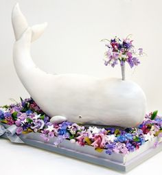 Outrageous wedding cakes, favors and more - A Whale of a Time | Gallery | Glo (cake by ron ben israel)