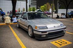 Honda Hatchback, Honda Vtec, Honda Civic, Tuner Cars, Jdm Cars, Civic Ef, Jdm Wheels, Dream Car Garage, Japan Cars