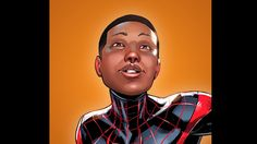 """When the first issue of the relaunched """"Spider-Man"""" series hits comic book stores this fall, the face behind the mask will no longer be Peter Parker. Spider Man Series, Spiderman, Miles Morales, Marvel Comics, Comic Books, Face, Editorial, Popular, Marvel Universe"""