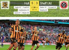 13th April 2014 : Hull City 5 - Sheffield United 3 : FA Cup Semi-Final at Wembley