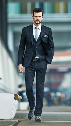 Nice style and suit via Parfait Gentleman blog