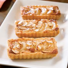 Pear and Almond Tartlets