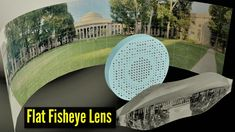 MIT Engineers produce a completely Flat Fisheye Lens that can produce Cr...