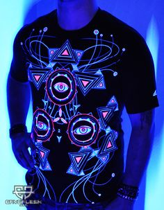4c5c4cecfd2ad0 73 Best Glow in Blacklight T-Shirts by Public Beta Wear images in ...