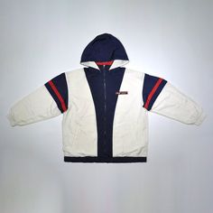 Vintage 90s FILA INTERNATIONAL Windbreaker Puffer Puffy Puff Hoodie Color  Block Colorway Jacket   Biella Italia ebb23e32084b