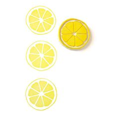Lemon Citrus Circle Stamp - Rubber Stamp - Cling Rubber Stamp on Etsy, $10.10 AUD