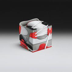 Sneakercube on Behance
