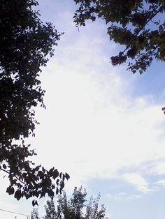 Γαλαζιος ουρανος.