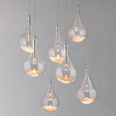 Buy John Lewis Sebastian 7 Light Drop Ceiling Light online at John Lewis