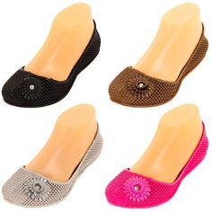 Womens Jelly Ballet Flats Jewel Flower Slip on Shoe Plastic Rubber Sandal Garden | eBay