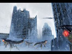 Art Direction |  Concept painting for Lost Planet