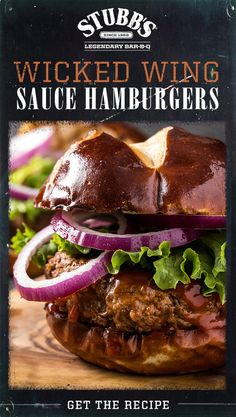 Wicked Chicken Wing Sauce, despite its name, is a good way to kick up the flavors in lots of dishes; try it in this hamburger recipe to add some Legendary Texas SPICE to your regular burgers. Hamburger Dishes, Hamburger Recipes, Beef Recipes, Cooking Recipes, Healthy Recipes, Great Recipes, Dinner Recipes, Favorite Recipes, Beef Burgers