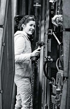 I admire Carrie Fisher.  She faced horrible times in her life and won.