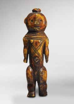 Africa | Lega Female Figure, Rounded Style. Democratic Republic of the Congo | Carved from African Elephant Ivory.