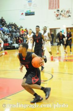 12/13/2014 - Photo by Harold Hoch - BOYS BASKETBALL Reading High Red Knights vs J.P. McCaskey Red Tornado in Lancaster.