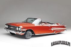 TEN: The Enthusiast Network :: Magazine Store Lowrider, Chevrolet Impala 1960, Convertible, Rear Speakers, Custom Tanks, Crate Engines, Sports Sedan, Sidecar, Hot Cars