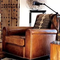 leather chairs for sale chair cover rentals el paso 204 best club images old doors and the destressed by ralph lauren joshua tree room scene