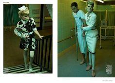 Image result for editorial retro nurse