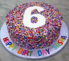 6 Cake, Cake Cookies, Cupcake Cakes, Kid Desserts, Cake Servings, Drip Cakes, Cute Cakes, Sprinkles, Bakery