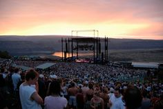 This is the Gorge Amphitheater in Washington. I had one of the best weekends ever there seeing DMB for 3 nights in 2002.