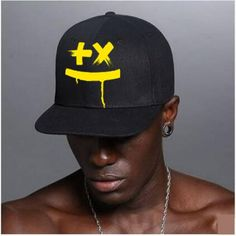 DJ Martin Garrix snapback cap for men black baseball caps a2f1de080a19