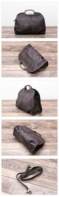 Handmade Natural Leather Messenger Bag Handbag Shoulder Bag Small Satchel Women's Fashion Bag Leather Cross Body Bag YS04 Overview: Design: Vintage Vegetable Tanned Leather Handbag In Stock: 3-5 days