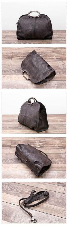 Handmade Natural Leather Messenger Bag Handbag Shoulder Bag Small Satchel Women's Fashion Bag Leather Cross Body Bag YS04 Overview: Design: Vintage Vegetable Tanned Leather Handbag In Stock: 3-5 days