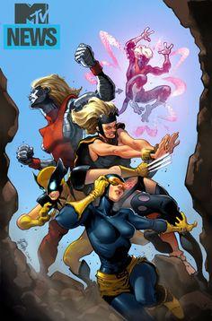 """X-Men '92 #1 variant - """"X-Gwen"""" by Ryan Stegman"""