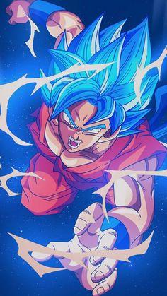 Dragon Ball Z Red Goku iPhone Wallpaper - iPhone Wallpapers Dragon Ball Gt, Blue Dragon, Art And Illustration, Wallpaper Do Goku, Dragonball Wallpaper, Dragonball Goku, Goku 2, Fan Art, Foto Do Goku