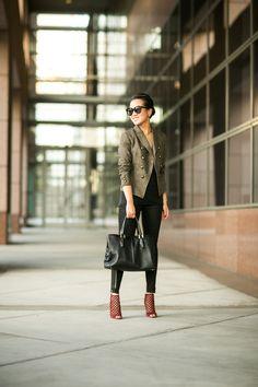 Olive Love :: Sharp blazer