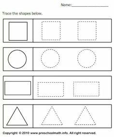 14 besten prek shapes Bilder auf Pinterest   Vorschule, Kita und ...