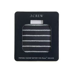 J.Crew backup iPhone battery.