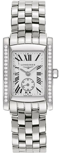 Longines Watch DolceVita Ladies #bezel-diamond #bracelet-strap-steel #brand-longines #buckle-type-deployment #case-depth-8mm #case-material-steel #case-width-22-4-x-26-85mm #delivery-timescale-1-2-weeks #dial-colour-silver #gender-ladies #luxury #movement-quartz-battery #official-stockist-for-longines-watches #packaging-longines-watch-packaging #sku-lng-154 #subcat-dolcevita #supplier-model-no-l5-502-0-71-6 #warranty-longines-official-2-year-guarantee #water-resistant-30m