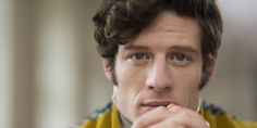 British actor James Norton as Prince Andrei in BBC adaptation of War and Peace, broadcast in 2016