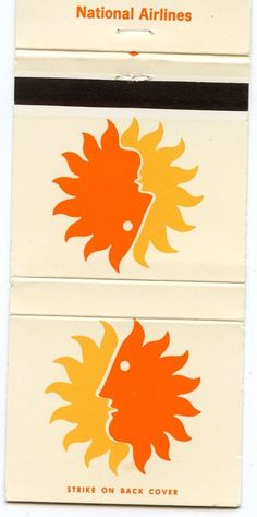 National Airlines Matchbook